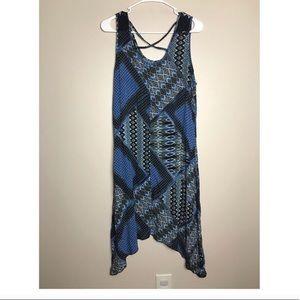 Mlle Gabrielle Blue parchwork Large dress